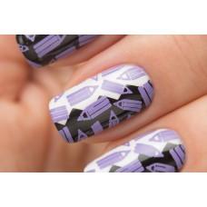 Stamping #12 — Violet