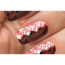 Stamping #01 — Red