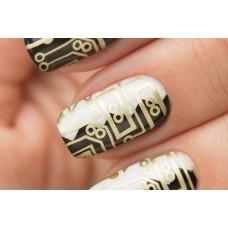 Stamping #05 — Gold