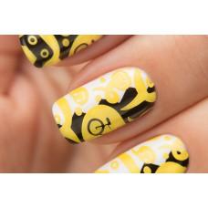 Stamping #06 — Yellow
