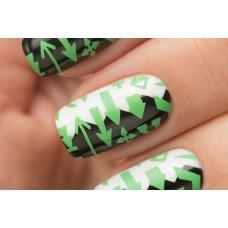 Stamping #07 — Green