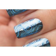 Stamping 17 — Metalic Blue
