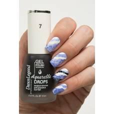 Aguarelle drops # 07 Deep Blue