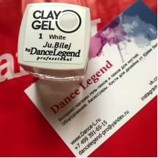 Гель-пластилин JuBilej-Clay Gel 01-White