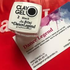 Гель-пластилин JuBilej-Clay Gel 02-Black