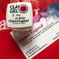 Гель-пластилин JuBilej-Clay Gel 03-Red
