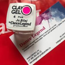 Гель-пластилин JuBilej-Clay Gel 04-Pink