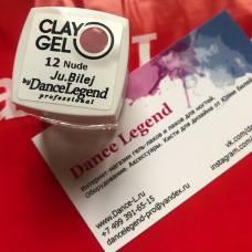 Гель-пластилин JuBilej-Clay Gel 12-Nude