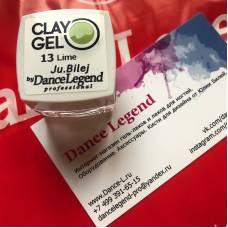 Гель-пластилин JuBilej-Clay Gel 13-Lime