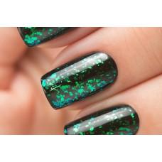 Ju.Bilej - Effect #E09-Spark Flake Green (зеленые хлопья)
