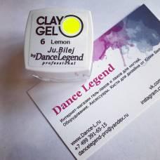 Гель-пластилин JuBilej-Clay Gel 06-Lemon