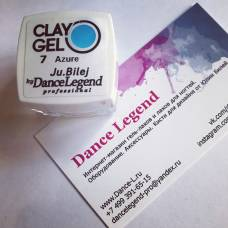 Гель-пластилин JuBilej-Clay Gel 07-Azure