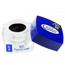 Гель-краска 3D Nailico 02 (4гр)
