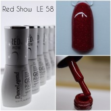 Gel Polish - Red Show Gel #058
