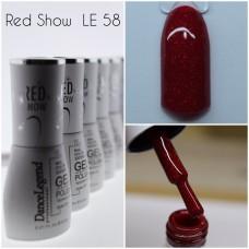 Gel Polish - Red Show Gel #058